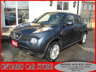 Used 2014 Nissan Juke SV AWD !!!CARPROOF CLEAN!!! for sale in Toronto, ON