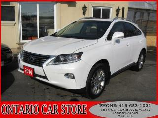 Used 2014 Lexus RX 350 AWD TOURING NAVIGATION LEATHER SUNROOF for sale in Toronto, ON