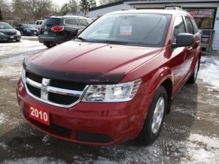 Used 2010 Dodge Journey 'GREAT VALUE' POWER EQUIPPED SE MODEL 5 PASSENGER 2.4L - 4 CYL.. CLOTH INTERIOR.. CD/AUX INPUT.. BLUETOOTH.. KEYLESS ENTRY.. for sale in Bradford, ON