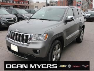 Used 2012 Jeep Grand Cherokee Overland for sale in North York, ON