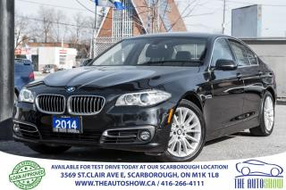 Used 2014 BMW 5 Series 528i xDrive NAVI 360/RearViewCam Bluetooth for sale in Caledon, ON
