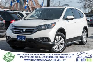 Used 2013 Honda CR-V EX AWD Sunroof RearViewCam Bluetooth HeatedSeats for sale in Caledon, ON