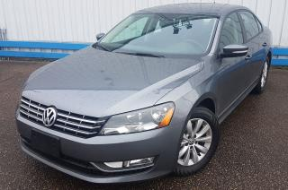 Used 2013 Volkswagen Passat TDI DIESEL *HEATED SEATS* for sale in Kitchener, ON