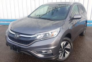 Used 2015 Honda CR-V Touring *NAVIGATION* for sale in Kitchener, ON
