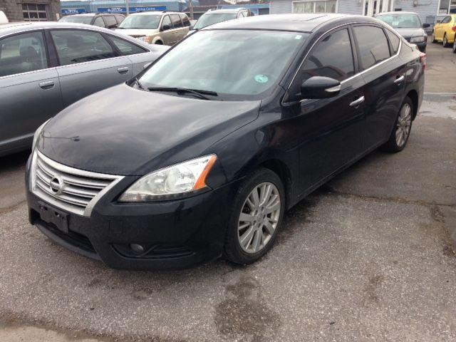 used 2013 nissan sentra sl for sale in oshawa ontario. Black Bedroom Furniture Sets. Home Design Ideas