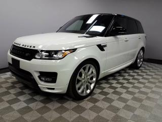 Used 2017 Land Rover Range Rover Sport Autobiography - 4yr/80000km manufacturer warranty included until March 8, 2021! CPO rates starting at 2.9%! Local One Owner Trade In | No Accidents | Navigation | Surround Camera System | Parking Sensors | Reverse Traffic/Blind Spot/Closing Vehicle  for sale in Edmonton, AB