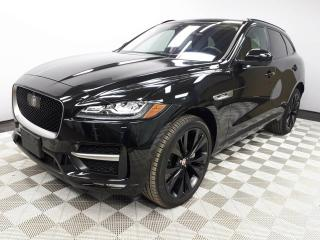 Used 2018 Jaguar F-PACE 35t R-Sport - 4yr/80000kms manufacturer warranty included! Local Canadian Vehicle | Executive Demo | No Accidents | Navigation | Surround Camera System | Park Assist | Parking Sensors | Reverse Traffic/Blind Spot/Closing Vehicle Sensors | Lane Keeping Aid for sale in Edmonton, AB