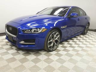 Used 2017 Jaguar XE SC R-Sport- 4yr/80000kms manufacturer warranty included until Jan 1, 2022! Local Canadian Car | Staff Purchase | No Accidents | Full Size Touch Screen | Rear Sunshade | Lane Keeping Aid/Driver Drowsiness | Reverse Traffic/Blind Spot/Closing Vehicle Sensor for sale in Edmonton, AB