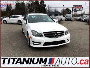 Used 2014 Mercedes-Benz C-Class C300 4 Matic+GPS+Camera+AWD+Sunroof+Heated Leather for sale in London, ON