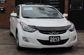 Used 2012 Hyundai Elantra GLS *SUNROOF, HEATED SEATS, ALLOYS, LOADED* for sale in Scarborough, ON