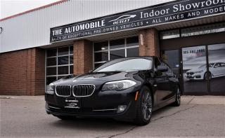 Used 2011 BMW 535 535i SPORT PKG NAVI BACK-UP CAMERA NO ACCIDENT for sale in Mississauga, ON