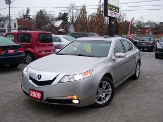 Used 2009 Acura TL Leather,Bluetooth,fog lightSunroof,Key less,Alloys for sale in Kitchener, ON
