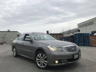 Used 2009 Infiniti M35x AWD, Automatic, Leather, Sunroof, 3/Y warranty ava for sale in North York, ON