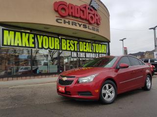 Used 2014 Chevrolet Cruze 2LT LEATHER H-TED SEATS ALLOY WHEELS for sale in Scarborough, ON