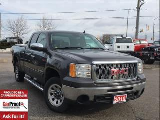 Used 2010 GMC Sierra 1500 *X CAB*A/C*PWR WIND*ONE OWNER for sale in Mississauga, ON
