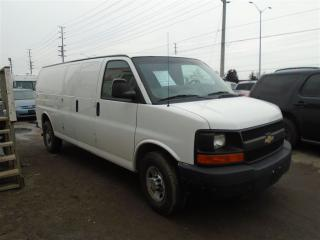 Used 2012 Chevrolet Express Extended Cargo Van for sale in Mississauga, ON