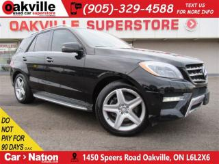 Used 2015 Mercedes-Benz ML-Class ML 350 BlueTEC 4MATIC | LEATHER | PANOROOF | NAVI for sale in Oakville, ON