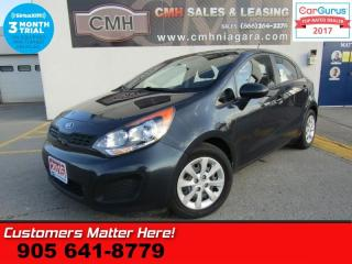Used 2015 Kia Rio LX+  LX+ AUTO HTD-SEATS BLUETOOTH KEYLESS AC CC PW PL for sale in St Catharines, ON