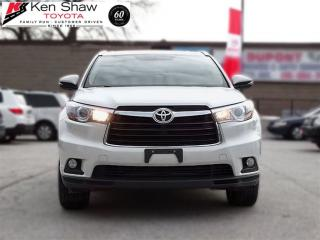Used 2015 Toyota Highlander Limited with Nav and blind spot monitoring for sale in Toronto, ON