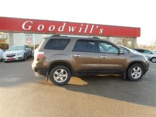 Used 2010 GMC Acadia SLE! 8 PASSENGER! DECENT MILEAGE! REMOTE START! for sale in Aylmer, ON