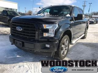 Used 2017 Ford F-150 XLT 302A, 5.0L, 20S, Twin Panel Moonroof, FX4 for sale in Woodstock, ON