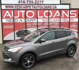 Used 2013 Ford Escape SE-ALL CREDIT ACCCEPTED for sale in Scarborough, ON