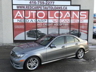 Used 2014 Mercedes-Benz C-Class C300-ALL CREDIT ACCEPTED for sale in Scarborough, ON