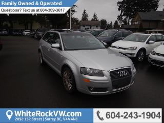 Used 2007 Audi A3 2.0T Radio Data System, Remote Keyless Entry &  Automatic Temperature Control for sale in Surrey, BC