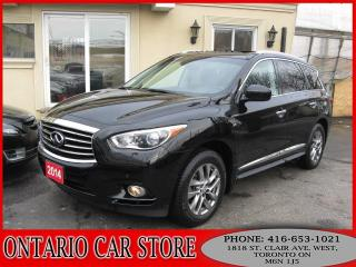 Used 2014 Infiniti QX60 AWD NAVIGATION 360 CAM SUNROOF for sale in Toronto, ON