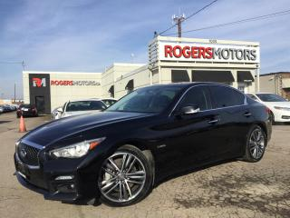 Used 2014 Infiniti Q50 SPORT HYBRID AWD - NAVI - 360 CAMERA for sale in Oakville, ON