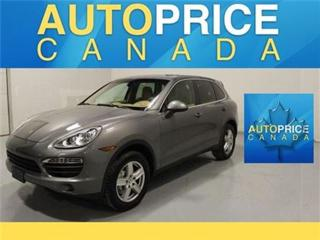 Used 2014 Porsche Cayenne S NAVIGATION PANORAMICROOF for sale in Mississauga, ON