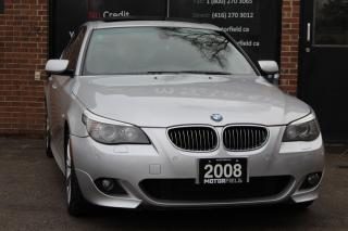 Used 2008 BMW 5 Series 535xi AWD M PKG *NO ACCIDENTS, CERTIFIED, MINT* for sale in Scarborough, ON