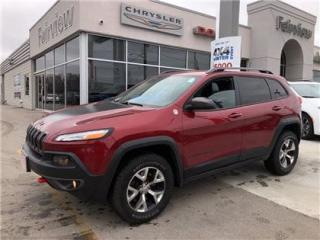 Used 2015 Jeep Cherokee Trailhawk..Leather/Navi for sale in Burlington, ON