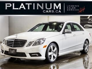 Used 2011 Mercedes-Benz E350 ,4MATIC, NAVI, Pano ROOF, BLINDSPOT, Lane Keep for sale in Toronto, ON