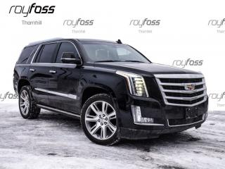 Used 2015 Cadillac Escalade Premium Nav Pwr Boards Driver Aware Pkg for sale in Thornhill, ON