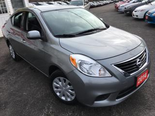 Used 2014 Nissan Versa SV / Auto / 4-Cylinder / Fuel Efficient / Low KMS! for sale in Scarborough, ON