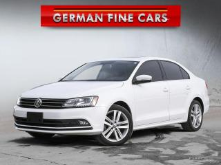 Used 2015 Volkswagen Jetta 2.0 TDI Highline  Diesel *** Navigation for sale in Caledon, ON