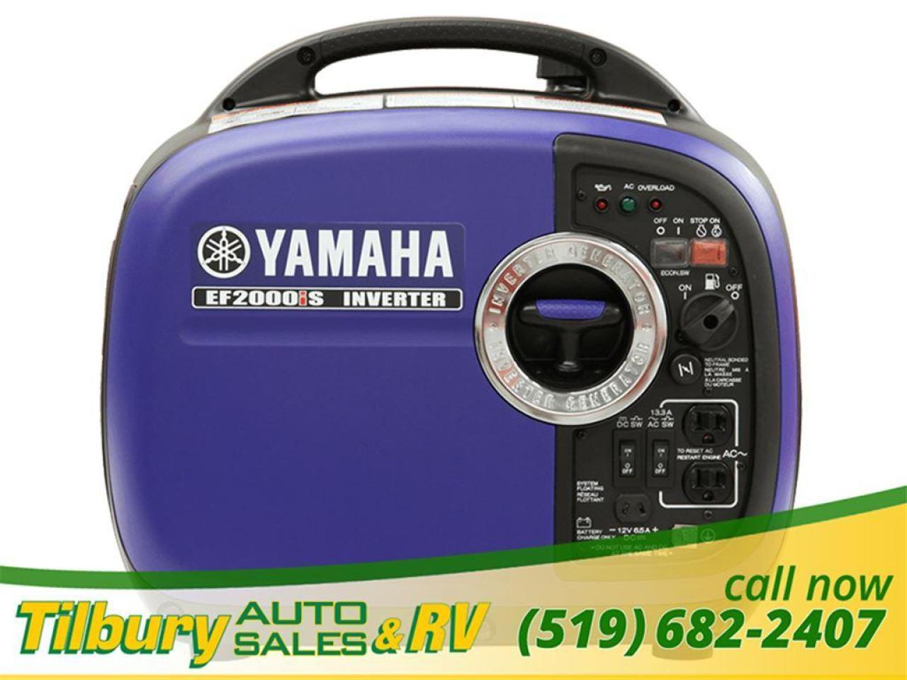 1900 Yamaha EF2000iST 30 IN STOCK. INVERTER 2000 WATT PARALEL CAPABILITY