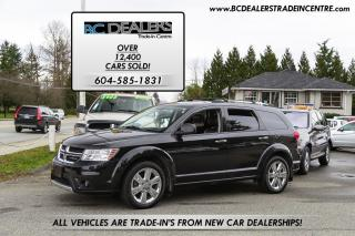 Used 2012 Dodge Journey R/T AWD, Leather, Navi, Sunroof, Low K, Loaded! for sale in Surrey, BC