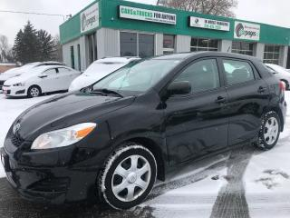 Used 2010 Toyota Matrix Snows l Auto l Power Pkg for sale in Waterloo, ON