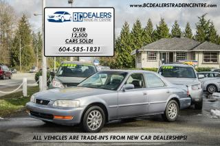 Used 1998 Acura TL 2.5L, Local, Very Clean, Leather, Sunroof, Loaded! for sale in Surrey, BC