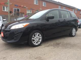 Used 2012 Mazda MAZDA5 2.5L/GS/4 CYL/6 SEATER/AUX/POWER OPS for sale in Scarborough, ON