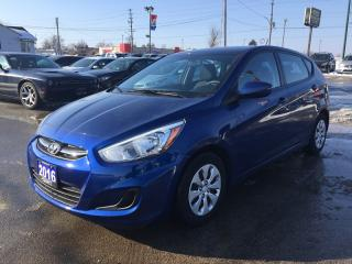 Used 2016 Hyundai ACCENT SE * HEATED SEATS * BLUETOOTH * SAT RADIO SYSTEM * LOW KM for sale in London, ON
