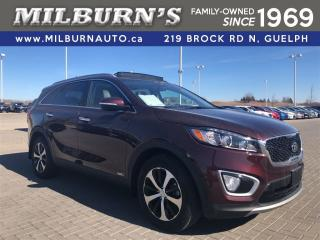 Used 2016 Kia Sorento 3.3L EX, LEATHER, PANORAMIC ROOF, REAR CAMERA for sale in Guelph, ON