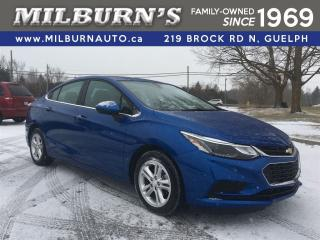Used 2017 Chevrolet Cruze LT, REAR CAMERA, SUN ROOF for sale in Guelph, ON