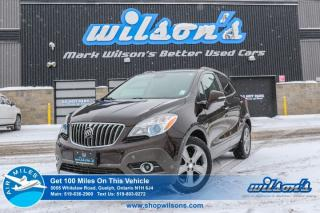 Used 2014 Buick Encore CX TURBO! REAR CAMERA! ALLOYS! TOUCHSCREEN! CRUISE CONTROL! POWER PACKAGE! SUV for sale in Guelph, ON