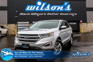 Used 2017 Ford Edge SEL LEATHER! NAVIGATION! PANO ROOF! REAR CAM! BLUETOOTH! CRUISE CONTROL! POWER PKG! for sale in Guelph, ON