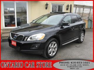 Used 2010 Volvo XC60 T6 AWD NAVIGATION BACK UP CAM for sale in Toronto, ON