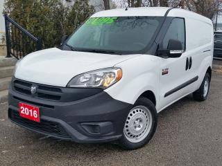 Used 2016 RAM ProMaster City Low KM - Back Up Camera - Dual Sliding Doors for sale in Beamsville, ON