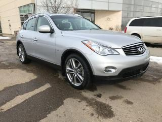 Used 2015 Infiniti QX50 ALL WHEEL DRIVE/NAVIGATION/HEATED SEATS/SUNROOF for sale in Edmonton, AB